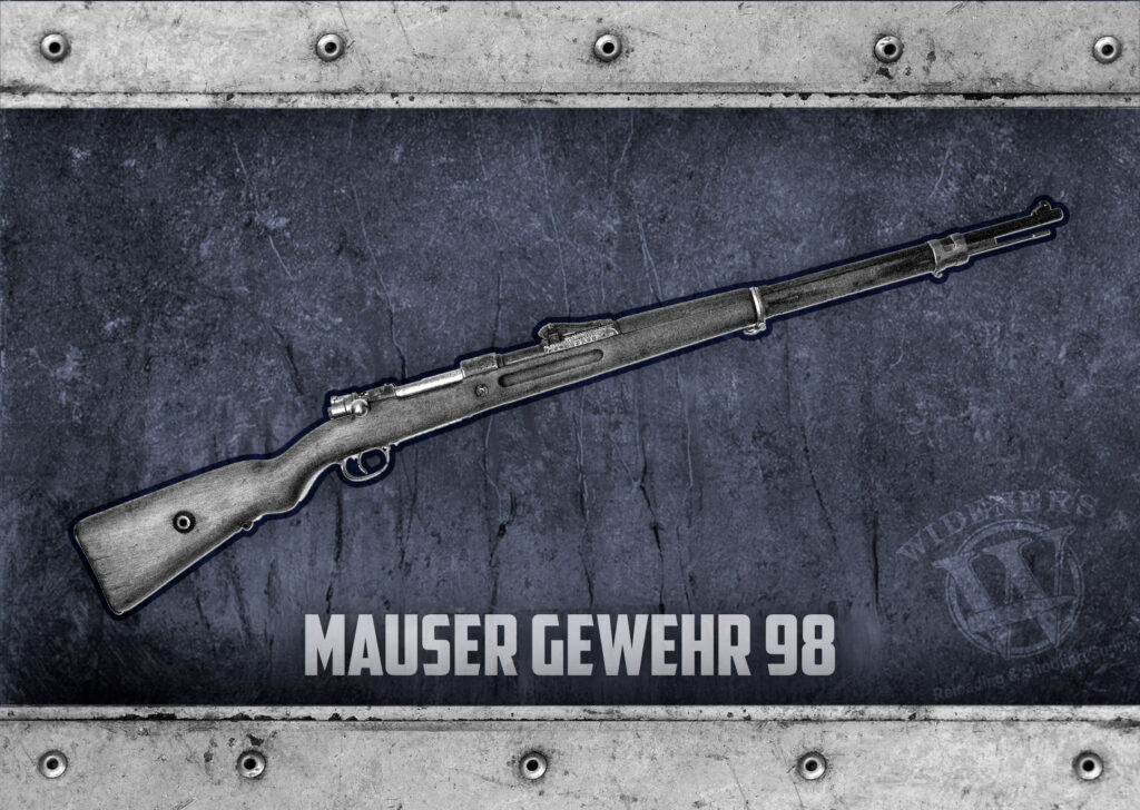 a photo of the Mauser Gewehr 98 german rifle