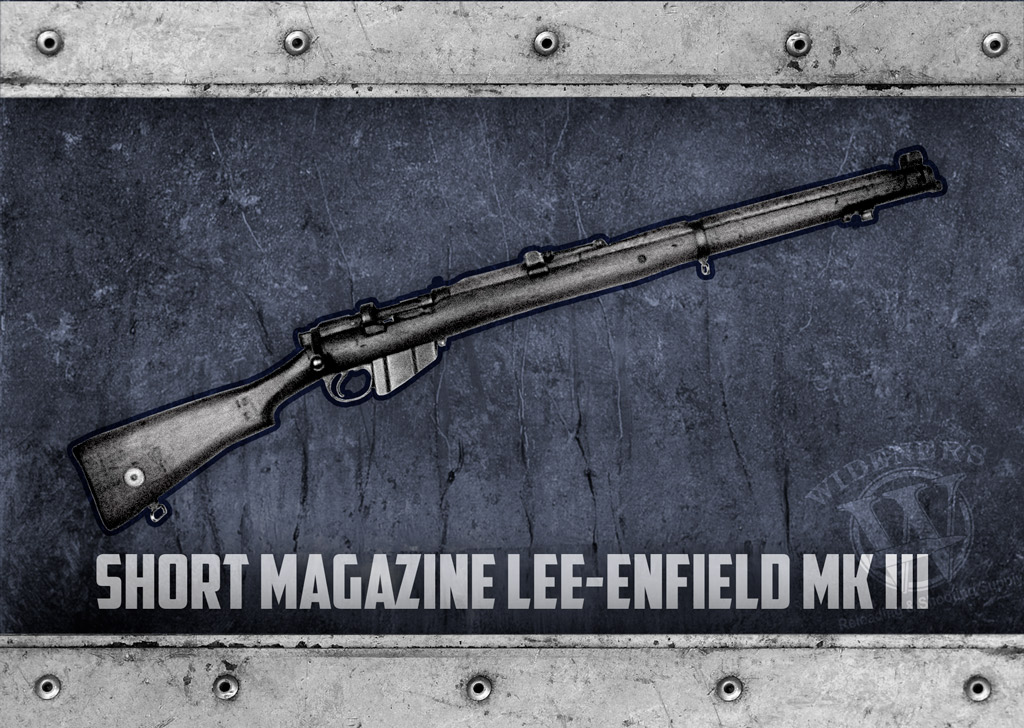 a photo of Short Magazine Lee-Enfield Mk III guns of 1917