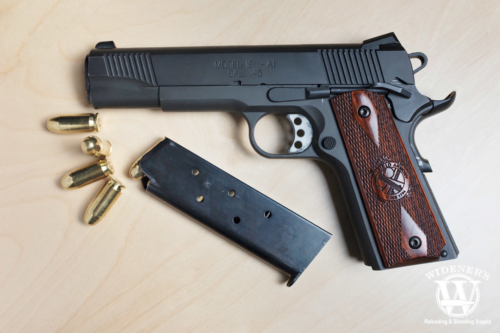 a photo of a Springfield 45 pistol