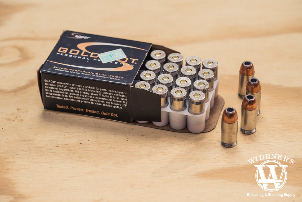 photo of speer best 45 acp ammo in jhp for home defense