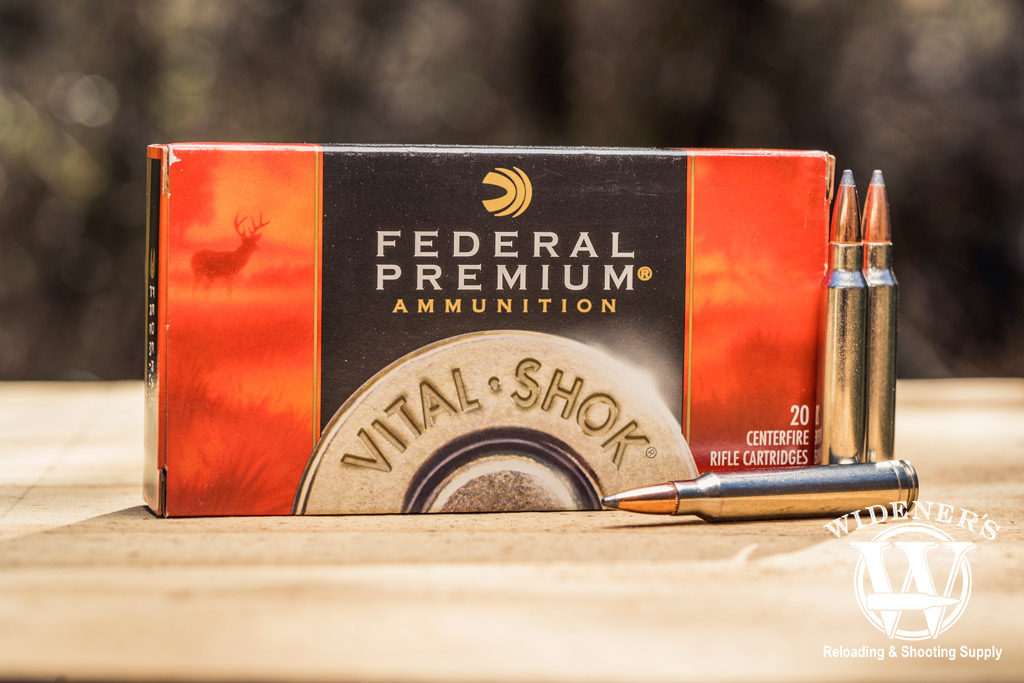 photo of federal vital shok best 300 win mag ammo outdoors