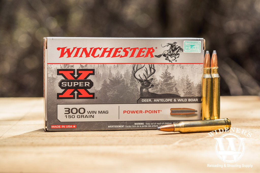 photo of winchester super x best 300 win mag ammo outdoors