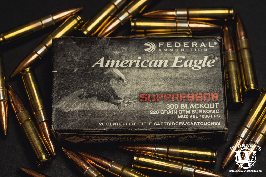 photo of federal american eagle subsonic ammo
