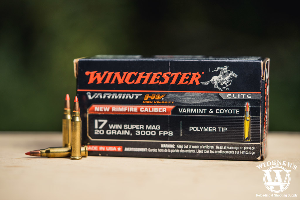 photo of winchester 17 wsm ammo outdoors