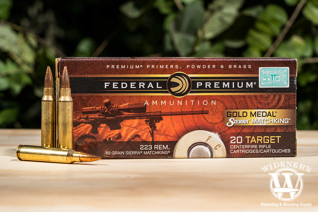 photo of Federal Gold Medal Match 223 ammo