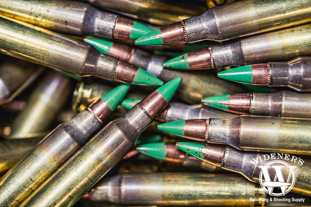 photo of m855 green tip 223 ammo