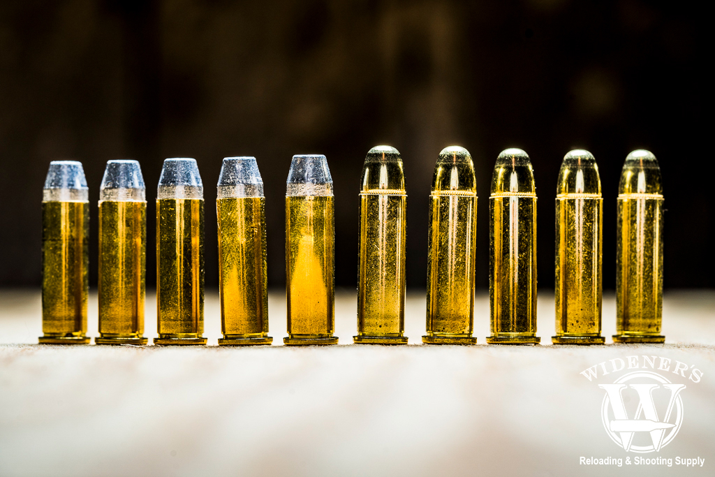 a photo of 38 special lrn ammo next to fmj ammo