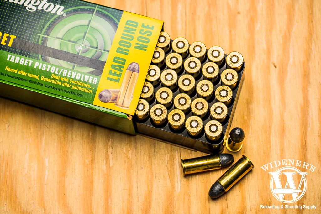 a photo of remington 44 magnum lrn ammo
