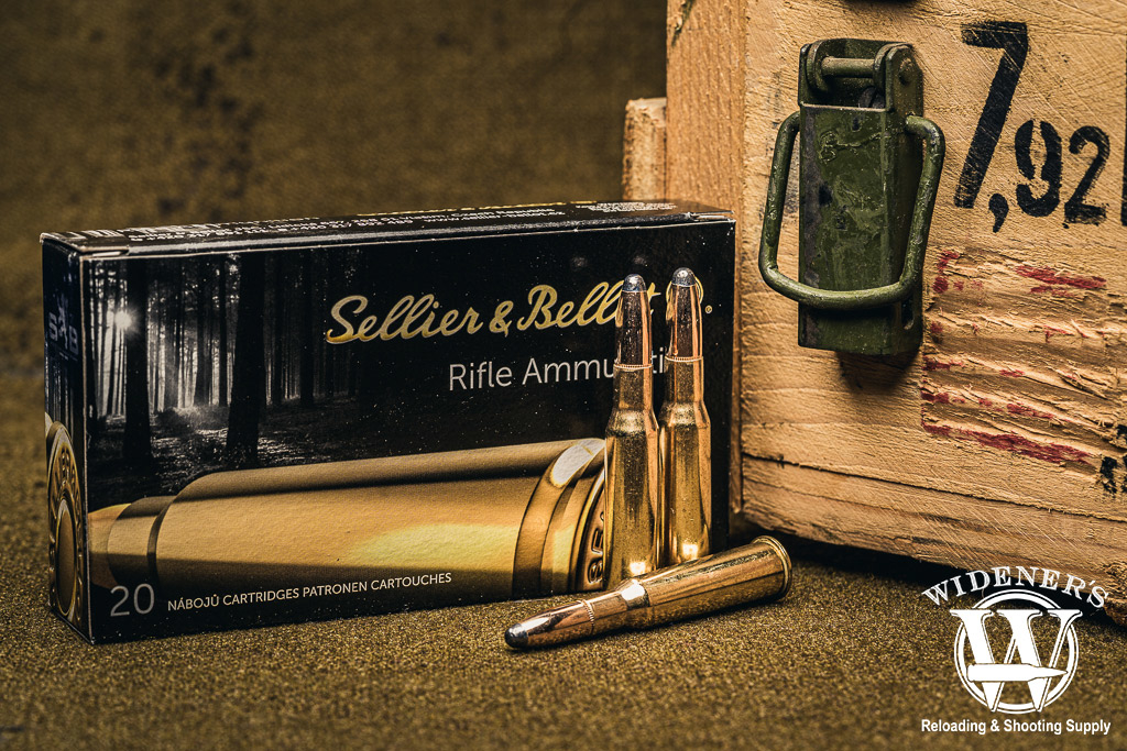 a photo of sellier and bellot 7.62x54r 180gr SP best mosin nagant ammo