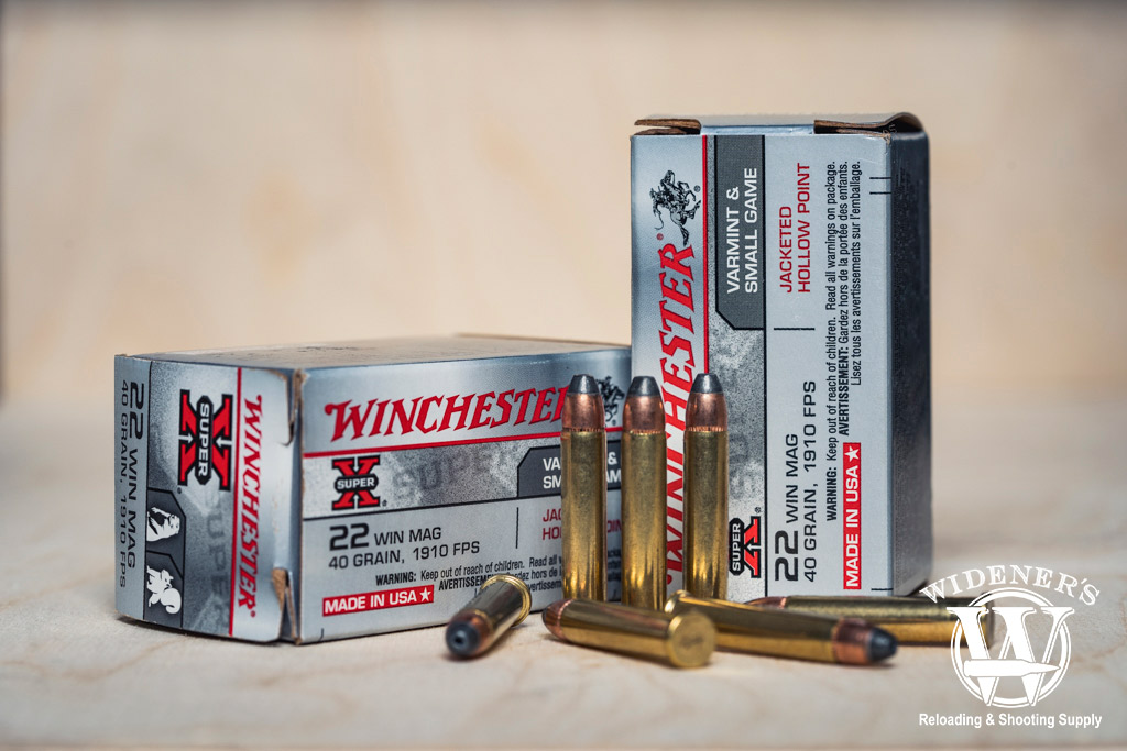 a photo of winchester 22 mag ammo