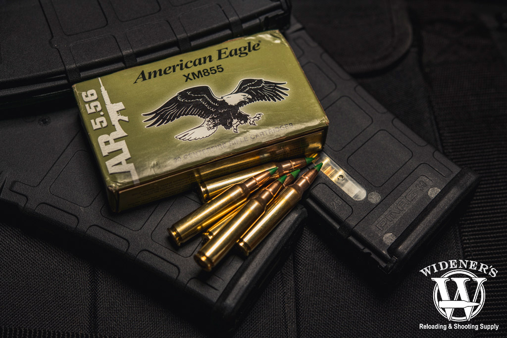 a photo of xm855 federal american eagle ammo