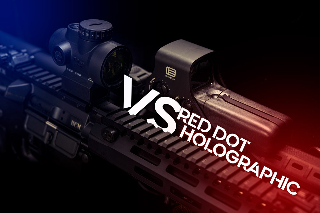 red dot vs holographic