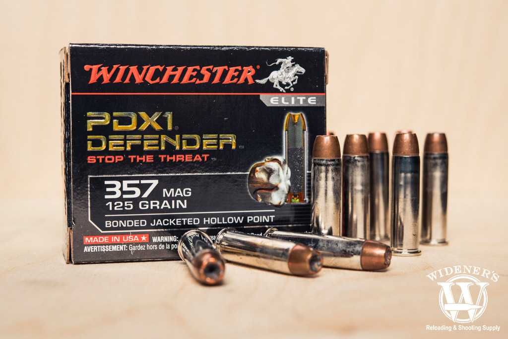 a photo of winchester pdx1 357 best magnum ammo
