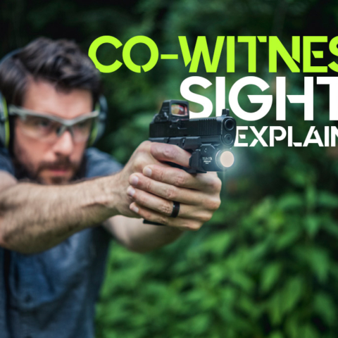 co-witness sights