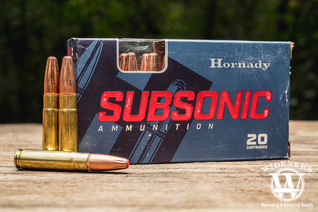 photo of hornady subsonic 300 BLK ammo