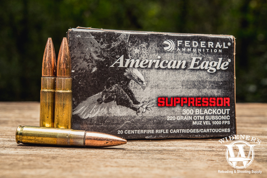 photo of federal american eagle Best 300 Blackout Ammo