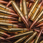macro photo of 300 BLK ammo