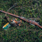 a photo illustrating the history of the mosin nagant rifle