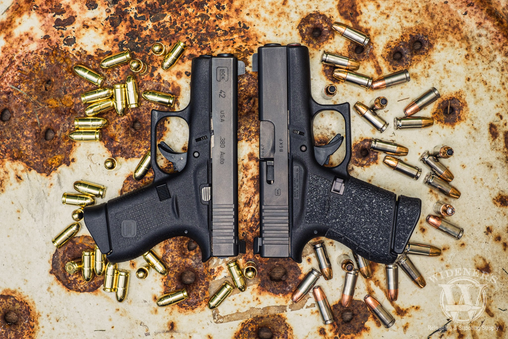a photo of Glock 42 VS 43