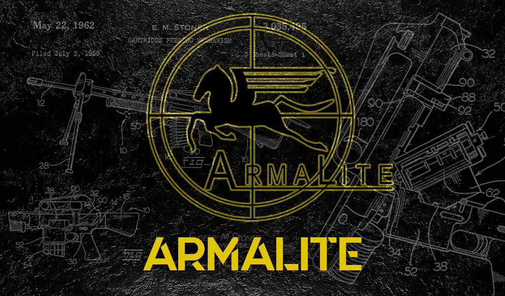 a photo of the armalite company logo