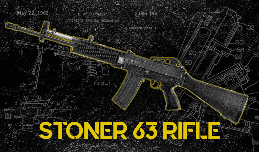 a photo of the stoner 63 rifle