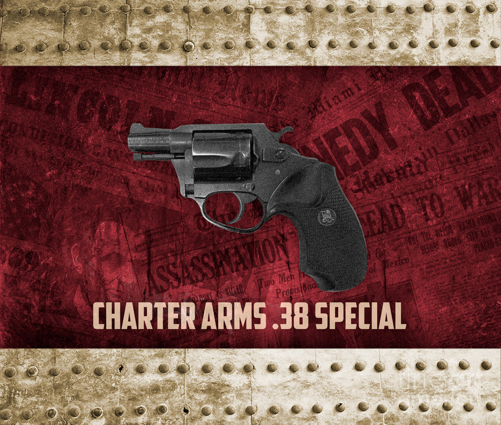 Charter Arms Undercover .38 Special revolver used in famous assassinations