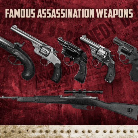 photos of guns used in famous assassinations