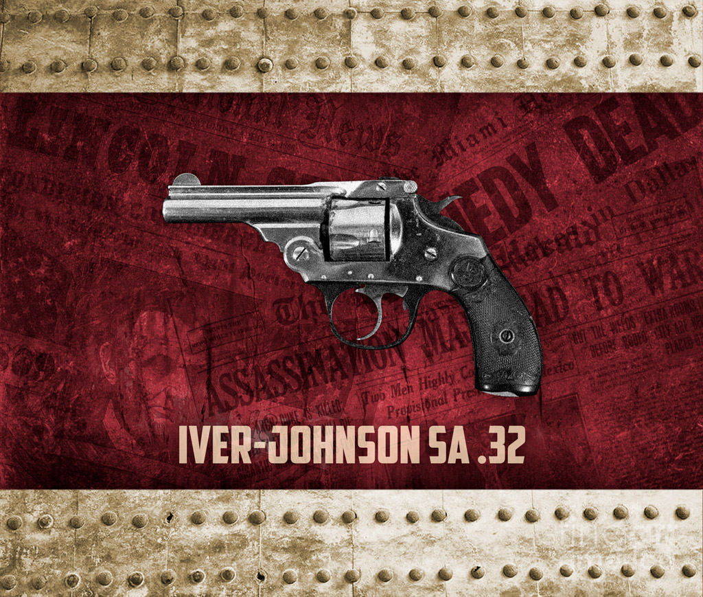 a photo of a 32-caliber Iver-Johnson Safety Automatic revolver