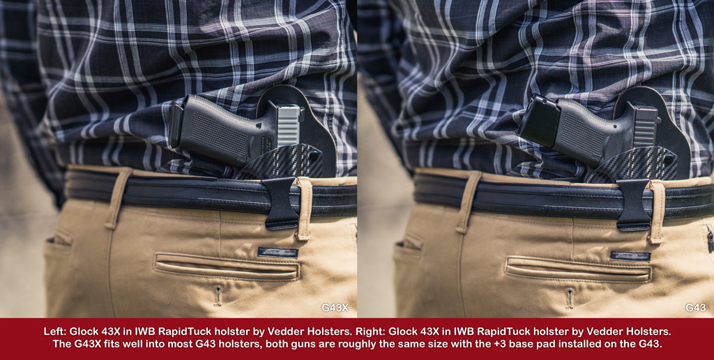 a photo of a man wearing an iwb holster