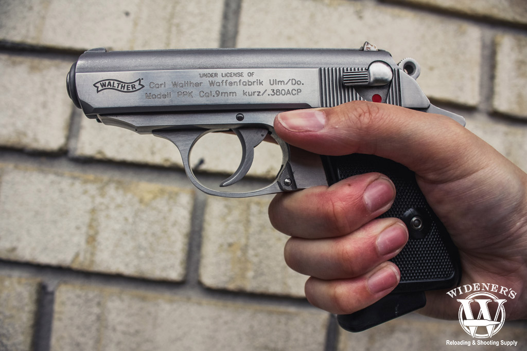 photo of the walther ppk 380 pistol