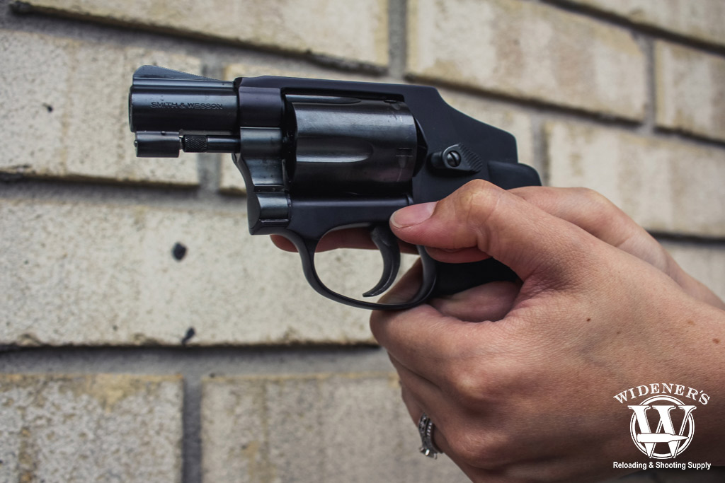 photo of the smith and wesson 38 special revolver