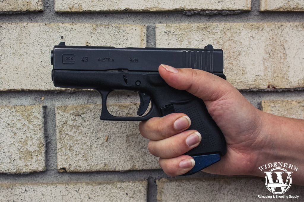 photo of the glock 43 best gun for small hands