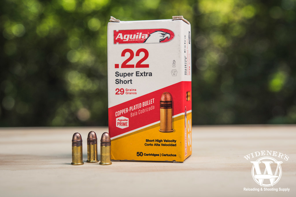 photo of aguila bullets and box