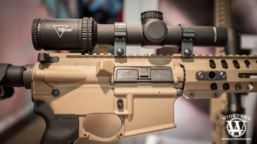 photo of the Trijicon Ascent tactical rifle scope line