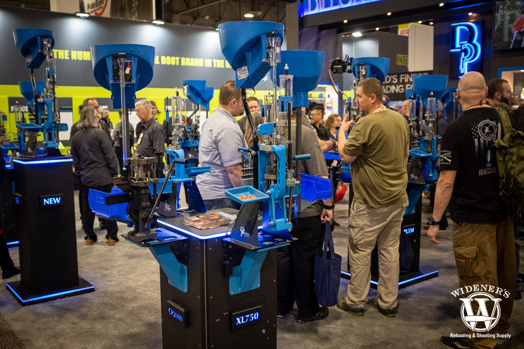 photo of the Dillon XL750 Reloader shot show 2020 report