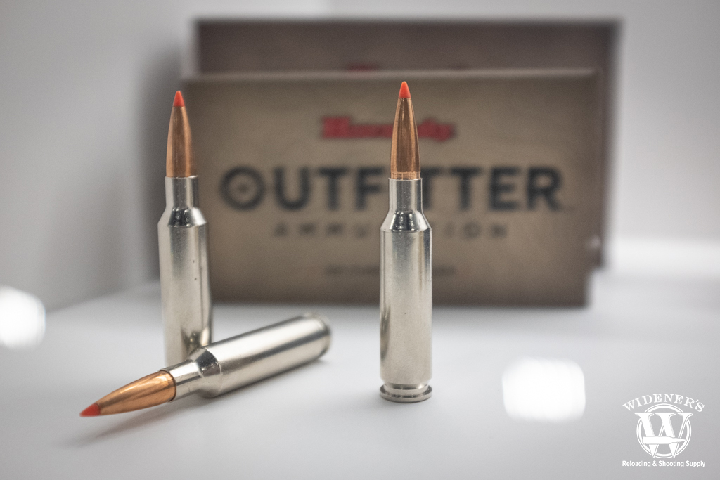 photo of hornady outfitter ammunition in various calibers