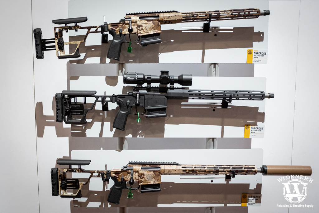 a photo of the sig sauer cross precision hunting rifle