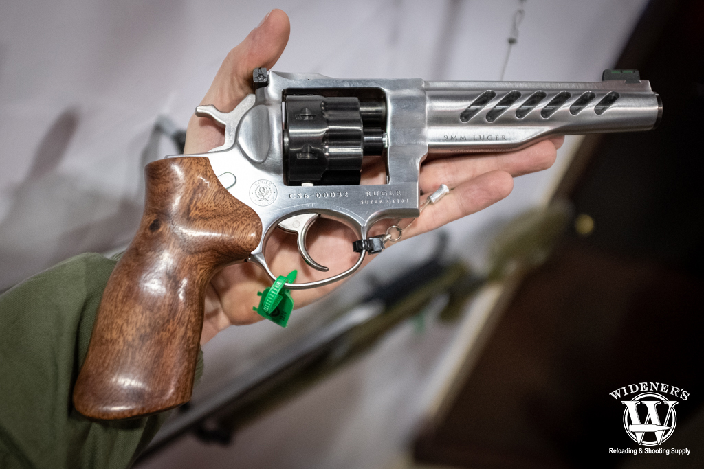 photo of the Ruger Super GP100 revolver in 9mm