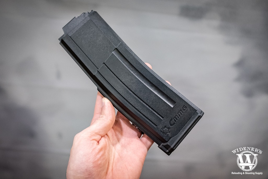photo of the CMMG 5.7x28mm 40 round magazine at shot show 2020