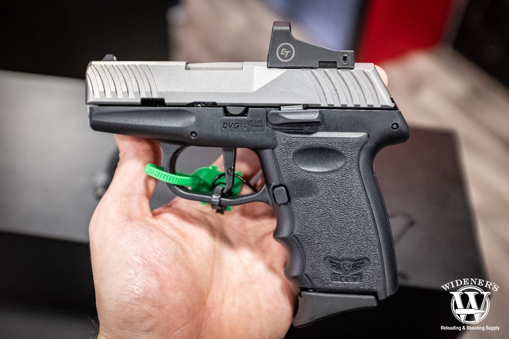 photo of the SCCY DVG-1RD pistol chambered in 9mm