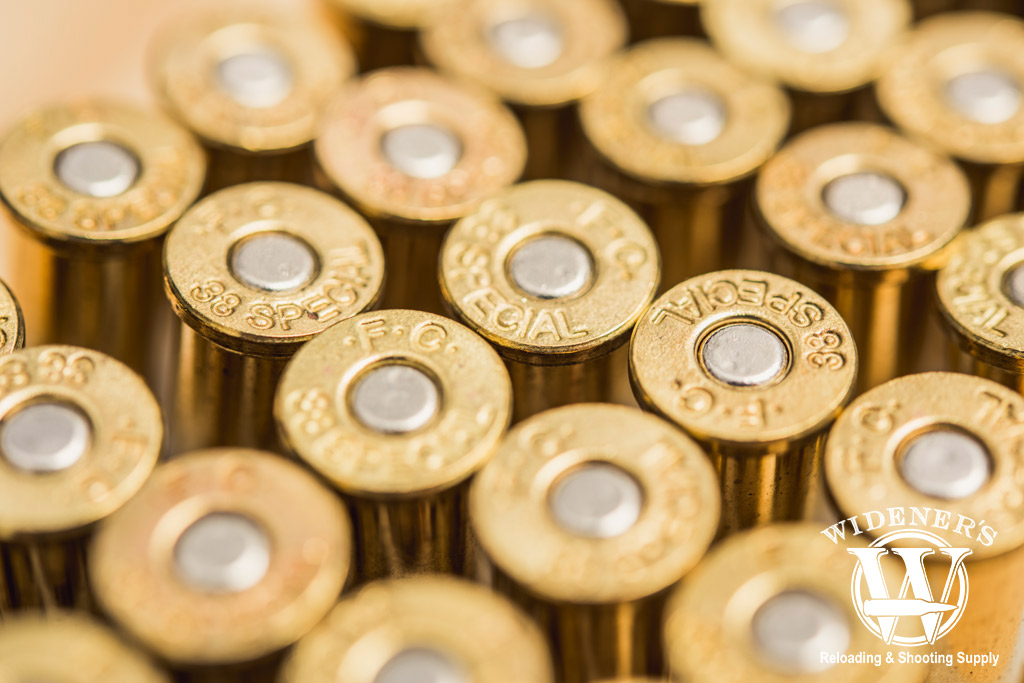 macro photo of best 38 special ammo