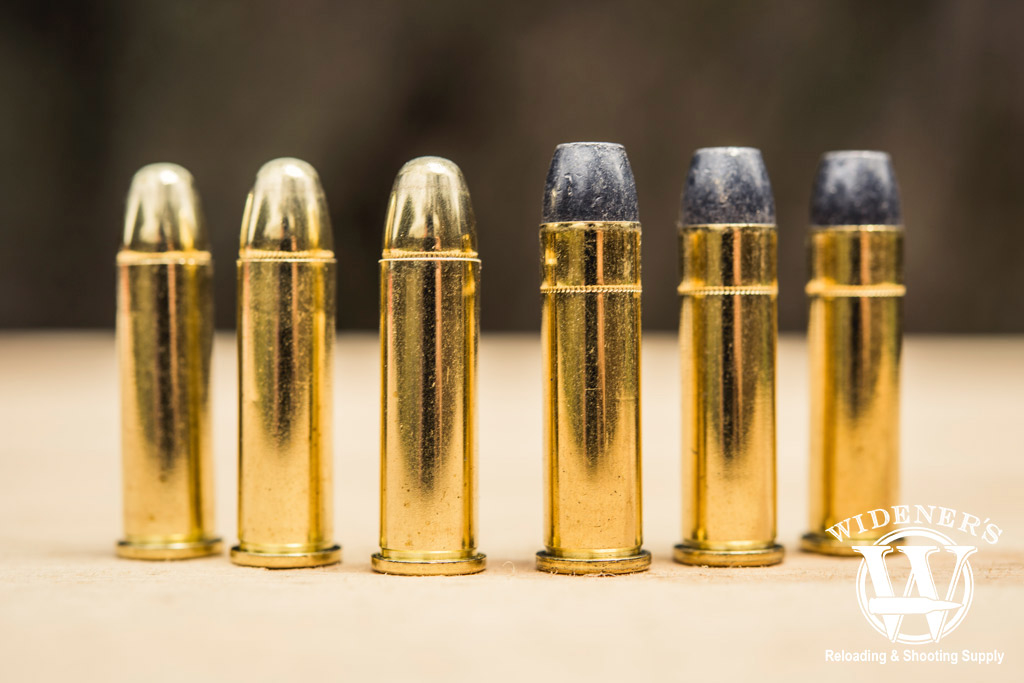 photo of best 38 special ammo compared to 357 ammo outside