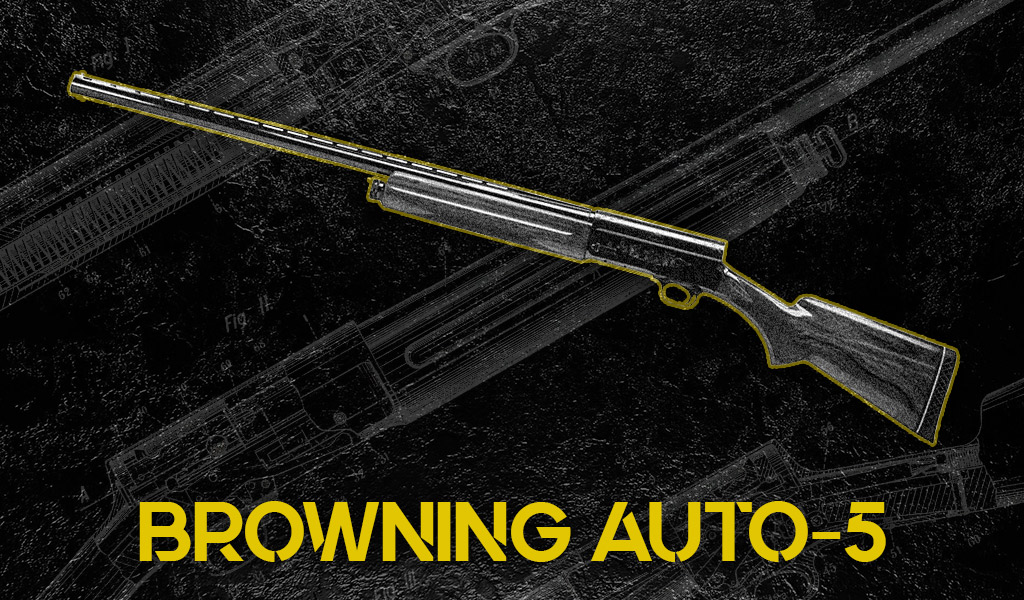 photo of the browning auto-5 shotgun