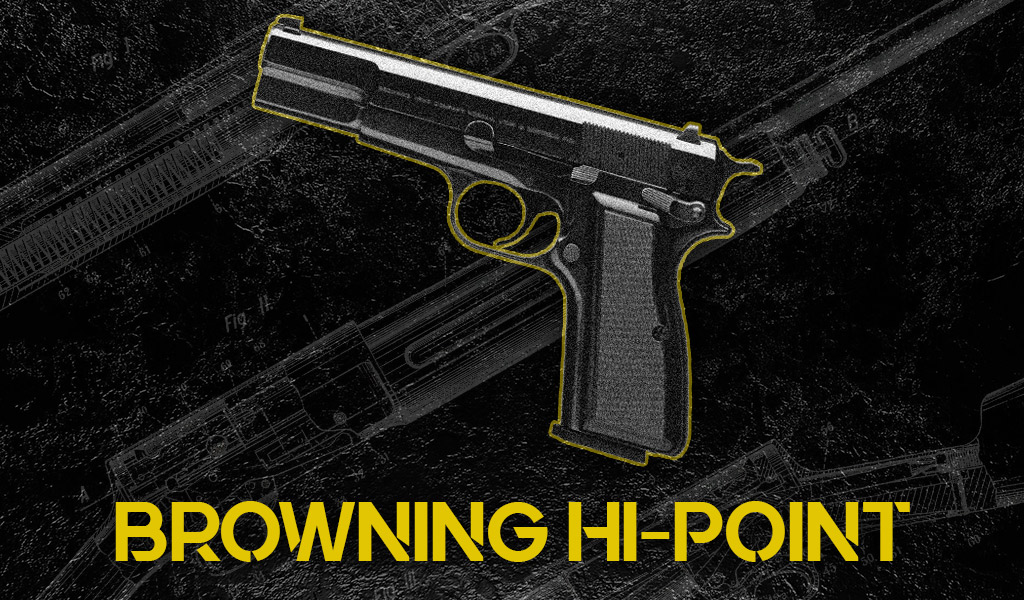 photo of the browning hi-point 9mm handgun designed by john moses browning