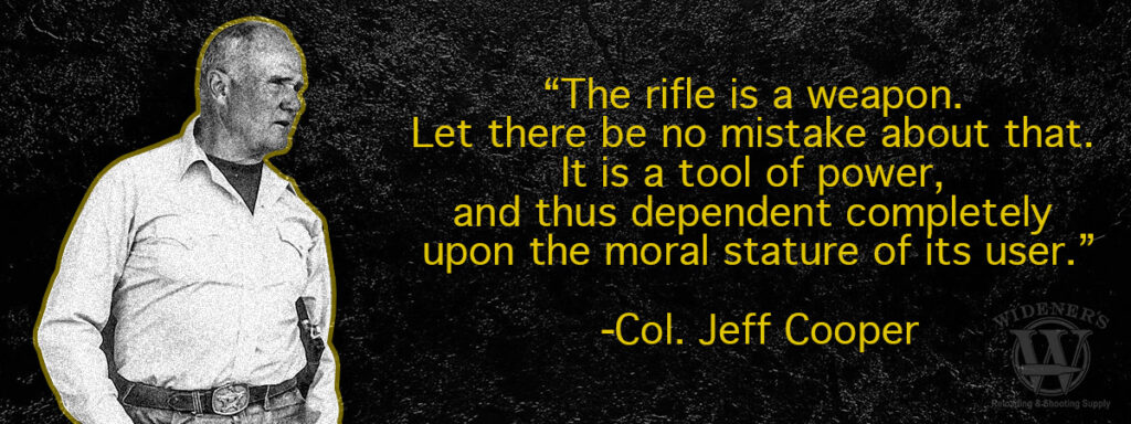 quote about the scout rifle