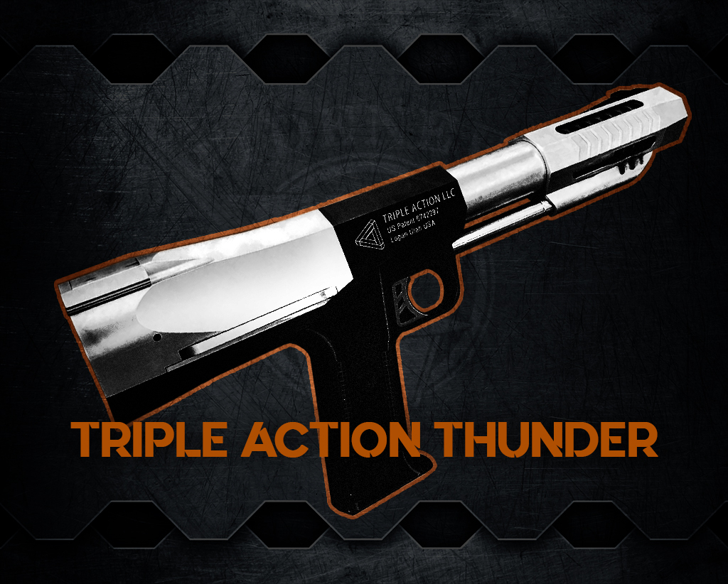 photo of the Triple Action Thunder most powerful handguns
