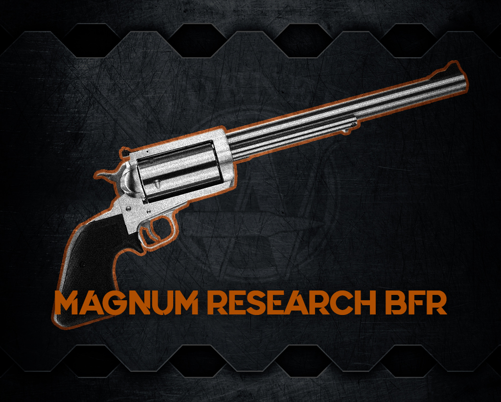 a photo of the Magnum Research BFR revolver