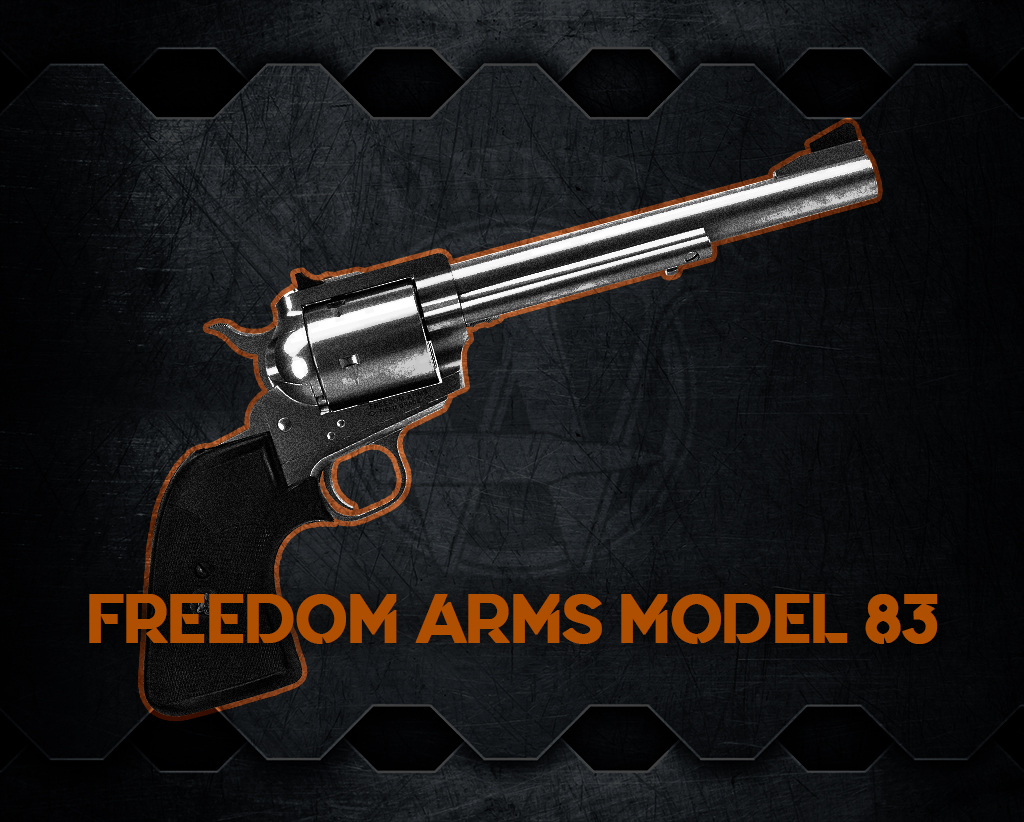 photo of the Freedom Arms Model 83 handgun
