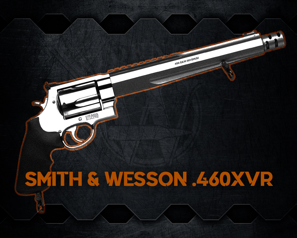 a photo of the Smith & Wesson 460XVR handgun