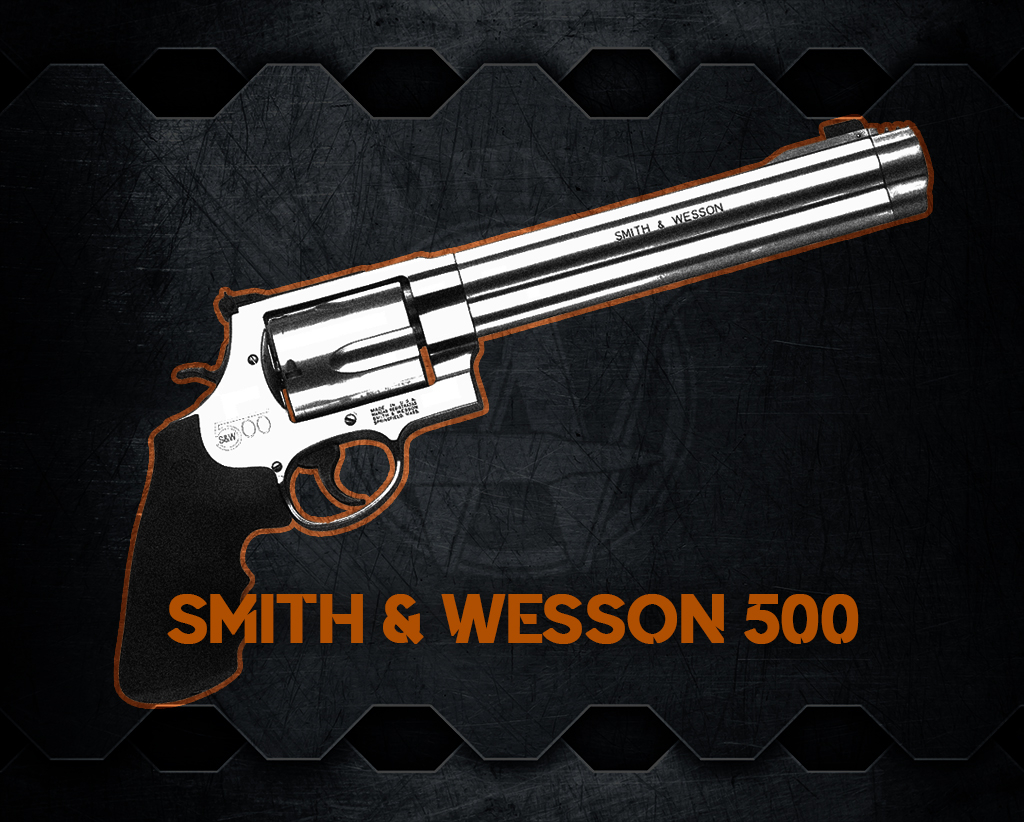 a photo of the Smith & Wesson 500 handgun